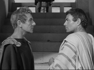 Sure Marlon Brando isn't mentioned anywhere else in this post, but the 1953 version of Julius Caesar is at least relevant to this episode.