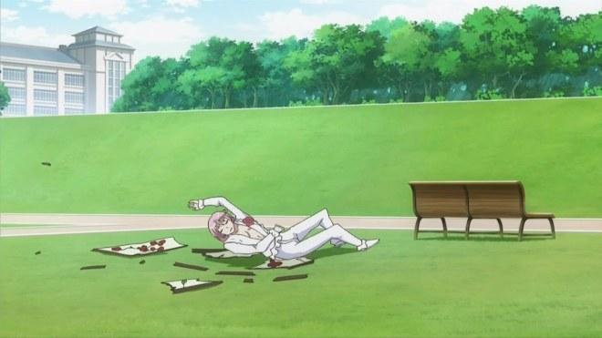 Kazamatsuri Toichiro falls over his background