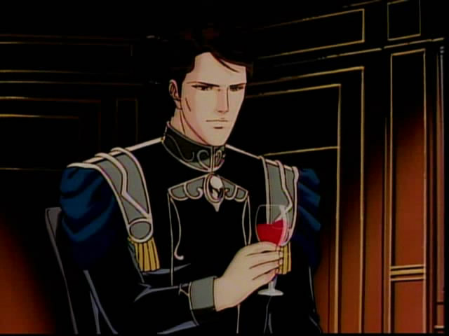 Reuenthal holds a glass of wine