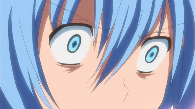 Funnily enough, this is my expression watching the last few weeks of Hayate