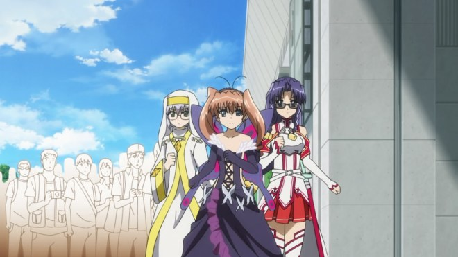 At least the cosplay on this show stays remarkably current.