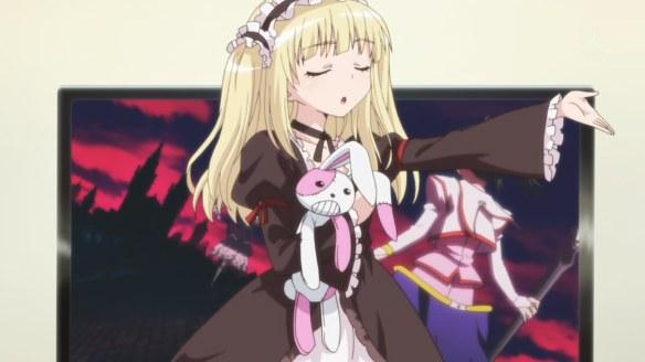 More Hanakana awkward singing in this episode.