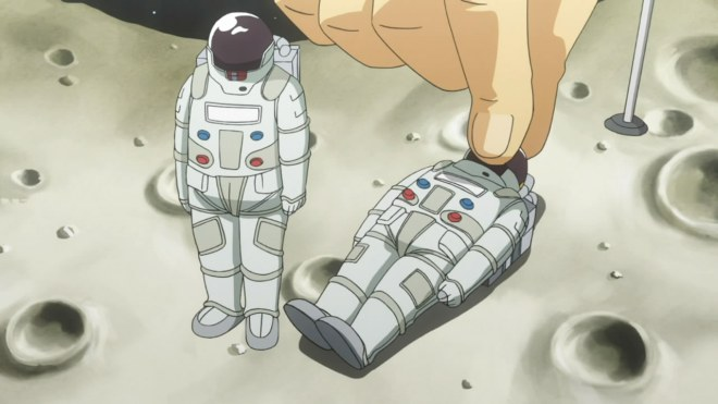 So when you see one of your astronauts injured, you need to steal all of his supplies and bury his body...I think.