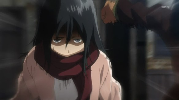 Mikasa will kick your ass.