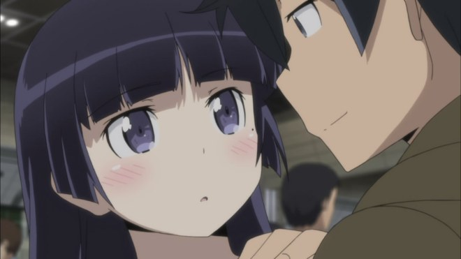 I'm not even a fan of the Kuroneko character, but she somehow makes this show work.