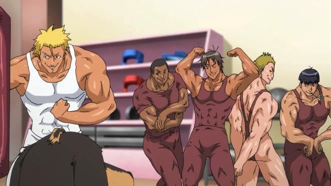 The rejects from the Free! audition.