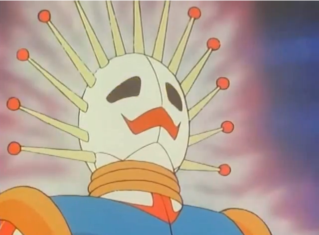 Even if it fires death lasers out of its eyes, I can't take it seriously as a bad guy.