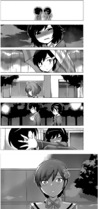 Keima remembers the pain even if no one else does.
