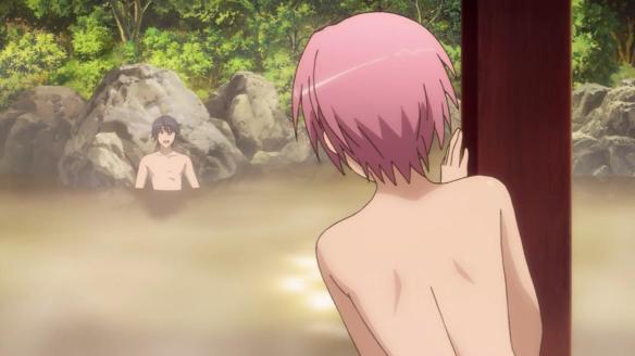The better onsen episode this week was White Album 2, but that would be too easy to write about
