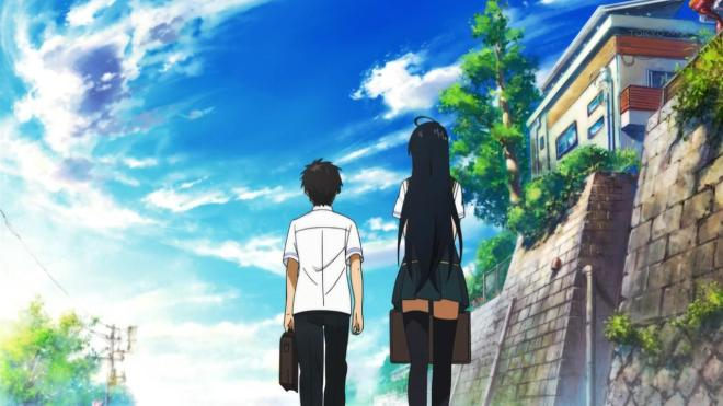 The height difference just adds to how powerless Takamiya is in the beginning.