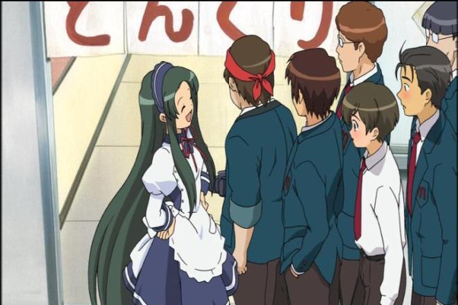 That's right Taniguchi and Kunikida, Tsuruya-san is better than Mikuru.