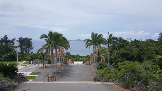 Iejima is a nice looking island with a sad post-war history.