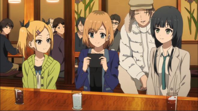 Erika, Aoi, Jun and Ema
